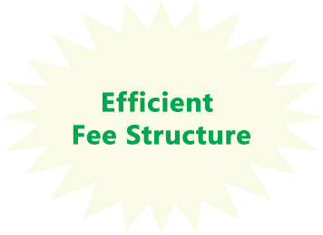 efficient fee structure